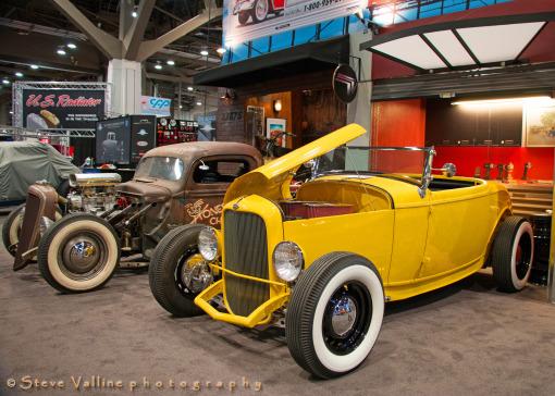 Honest Charlies Speed Shop Vintage Yellow